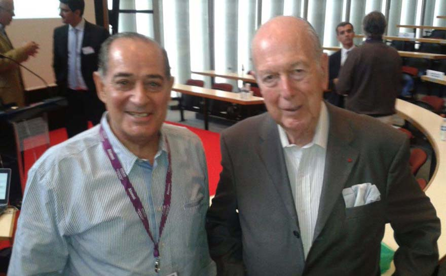 Mr. Olivier Giscard D'Estaing, Founder of INSEAD